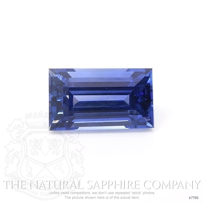 Natural Untreated Blue Sapphire B7793 Image