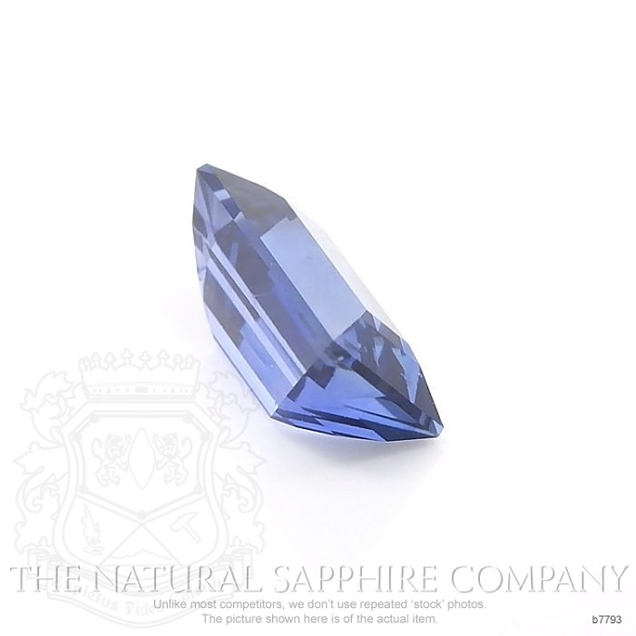 Natural Untreated Blue Sapphire B7793 Image 3