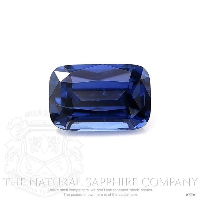 Natural Untreated Blue Sapphire B7794 Image
