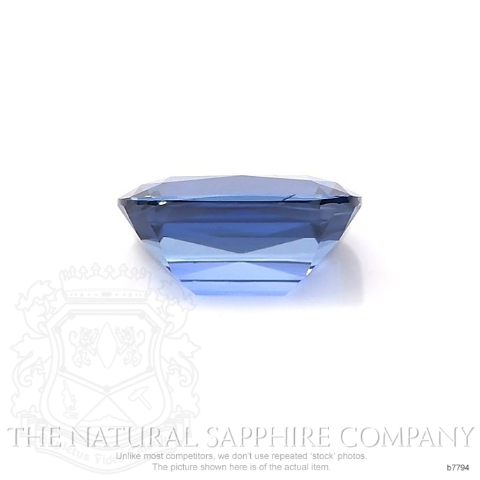 Natural Untreated Blue Sapphire B7794 Image 2