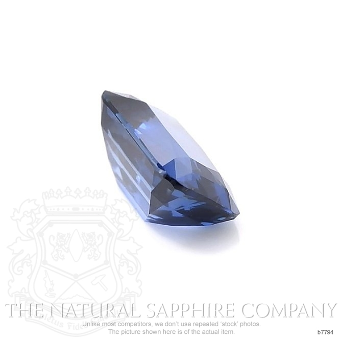 Natural Untreated Blue Sapphire B7794 Image 3