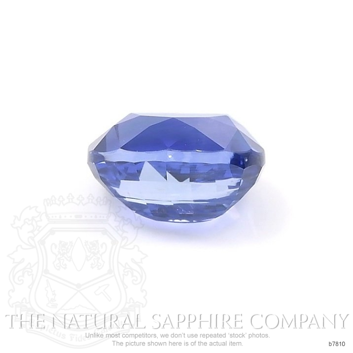 Natural Untreated Blue Sapphire B7810 Image 2