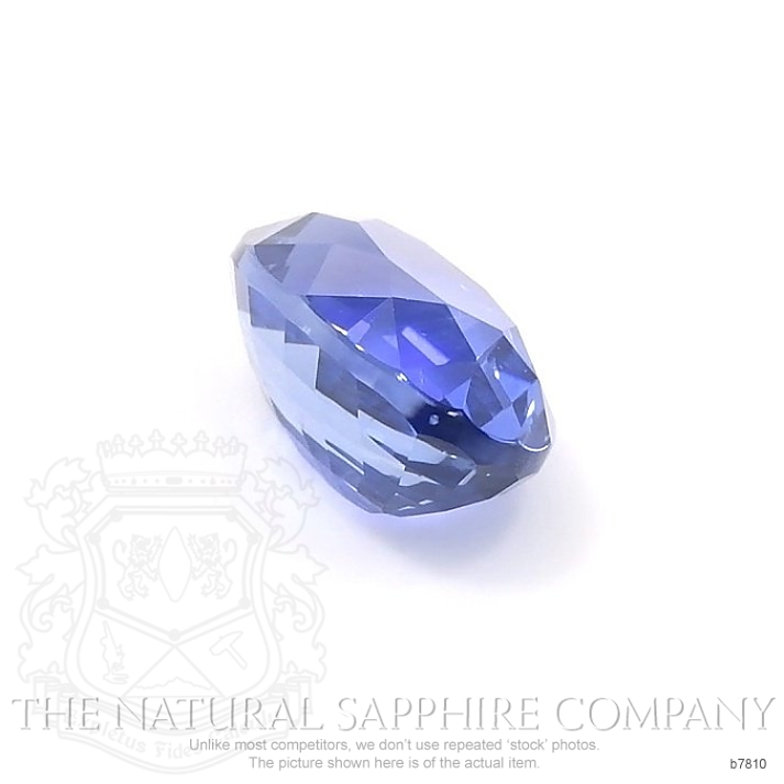 Natural Untreated Blue Sapphire B7810 Image 3