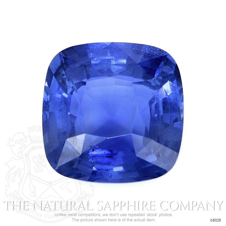 Natural Untreated Blue Sapphire B8028 Image
