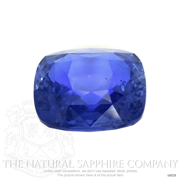Natural Untreated Blue Sapphire B8028 Image 2
