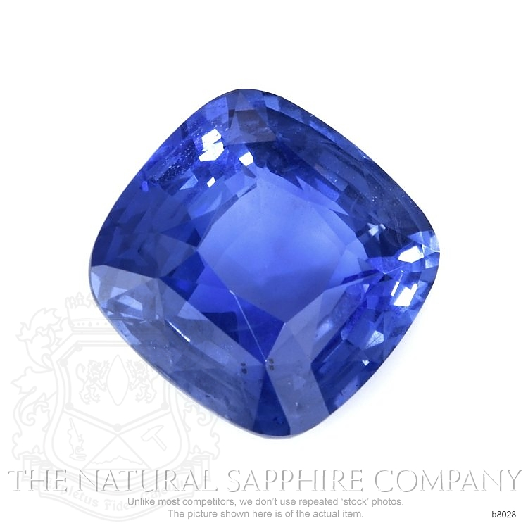 Natural Untreated Blue Sapphire B8028 Image 3