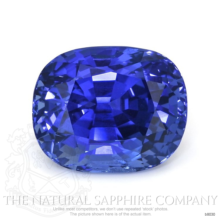 Natural Untreated Blue Sapphire B8030 Image