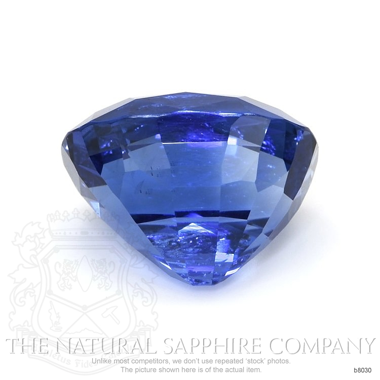 Natural Untreated Blue Sapphire B8030 Image 2