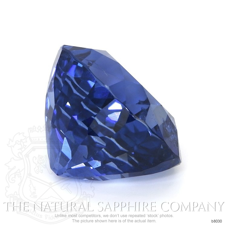 Natural Untreated Blue Sapphire B8030 Image 3