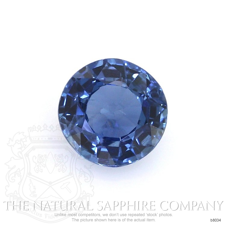 Natural Untreated Blue Sapphire B8034 Image