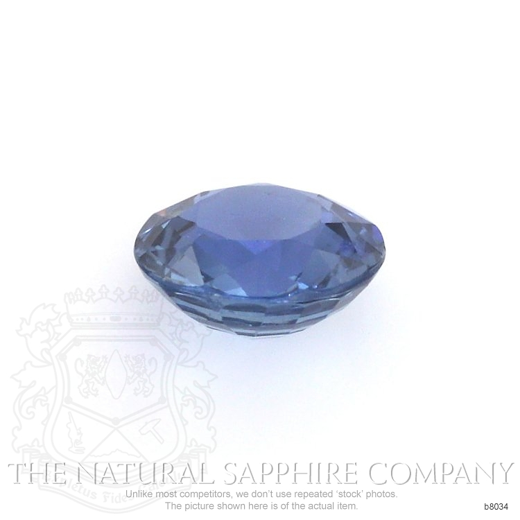 Natural Untreated Blue Sapphire B8034 Image 2