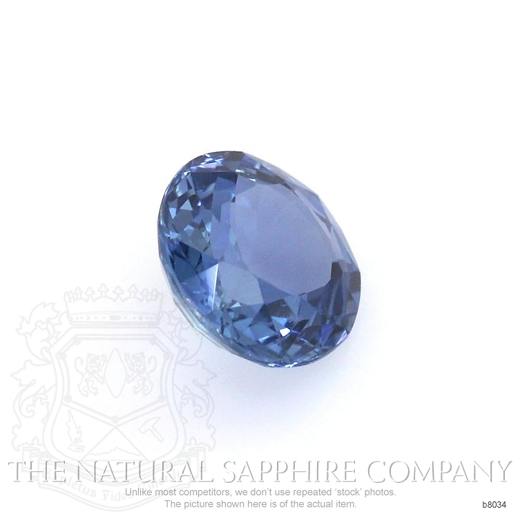 Natural Untreated Blue Sapphire B8034 Image 3
