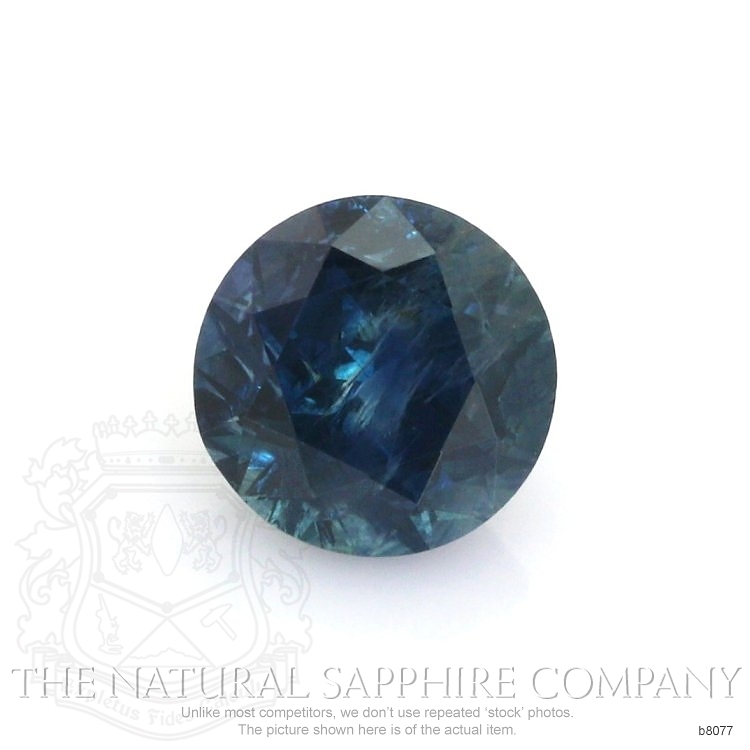 Natural Blue Sapphire B8077 Image