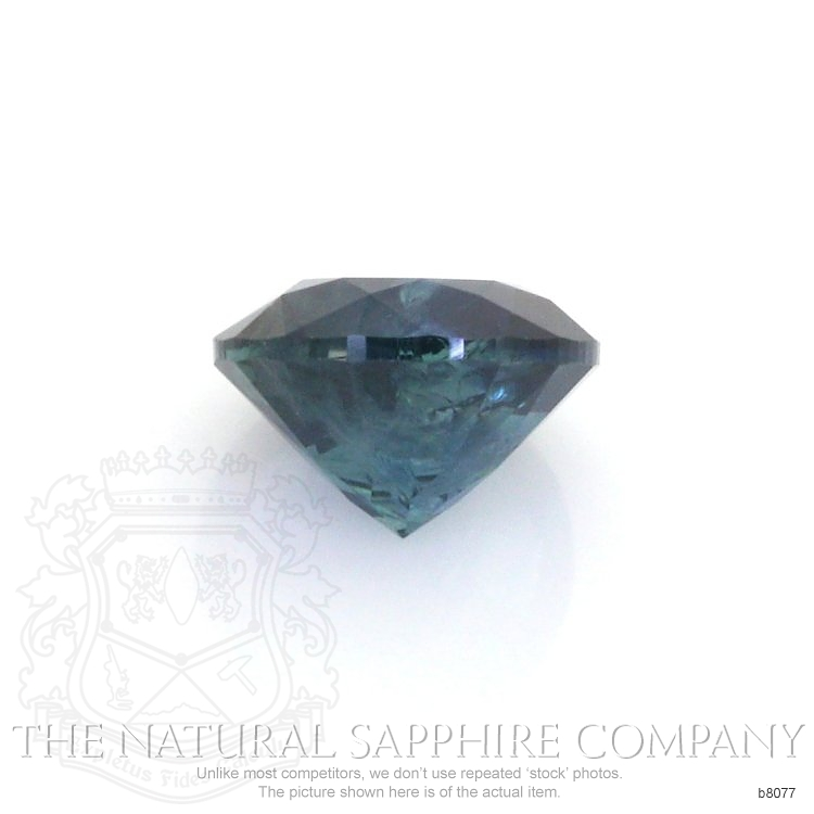 Natural Blue Sapphire B8077 Image 2