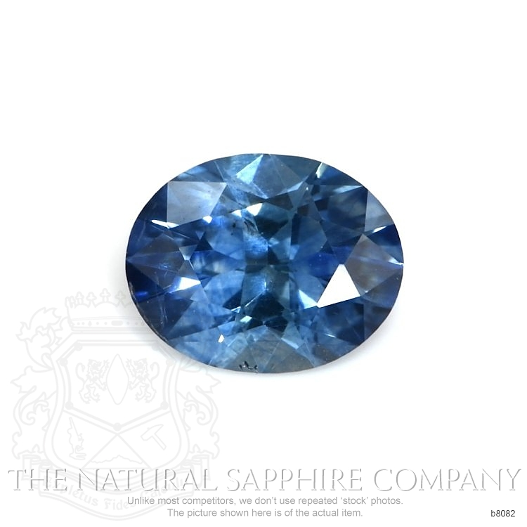 Natural Blue Sapphire B8082 Image
