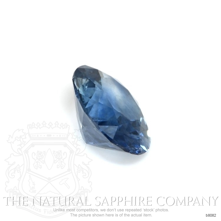 Natural Blue Sapphire B8082 Image 3