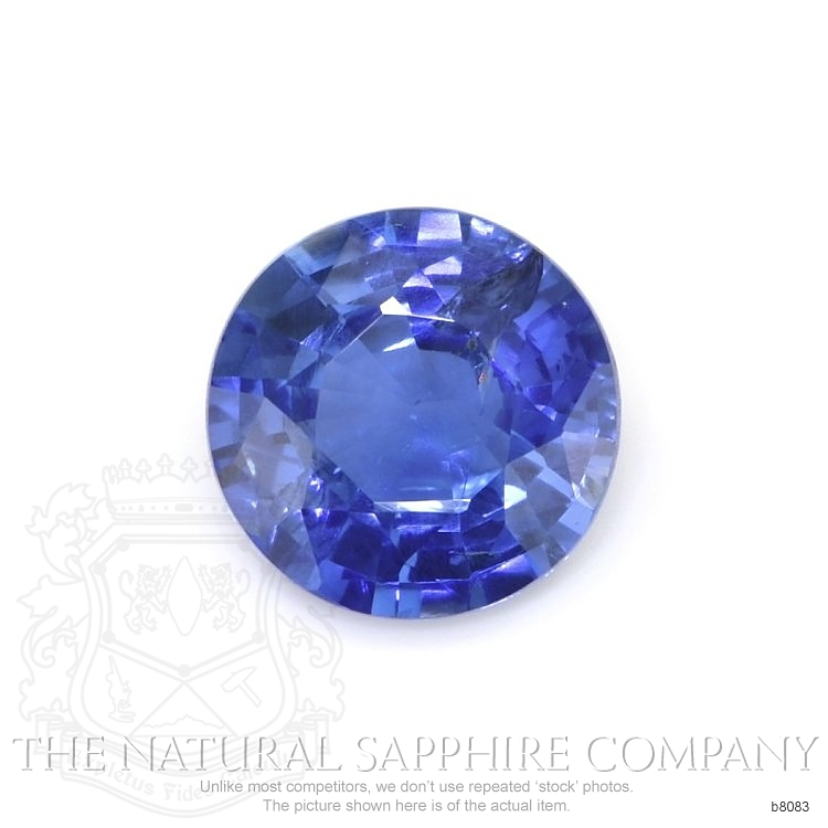 Natural Untreated Blue Sapphire B8083 Image