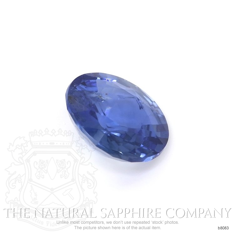 Natural Untreated Blue Sapphire B8083 Image 3