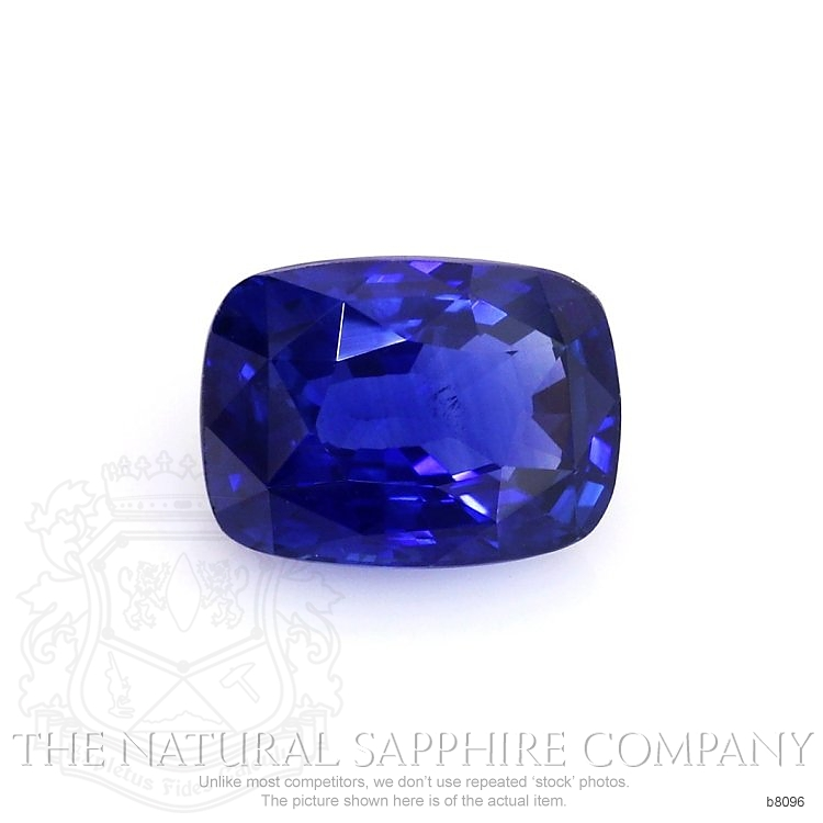 Natural Blue Sapphire B8096 Image