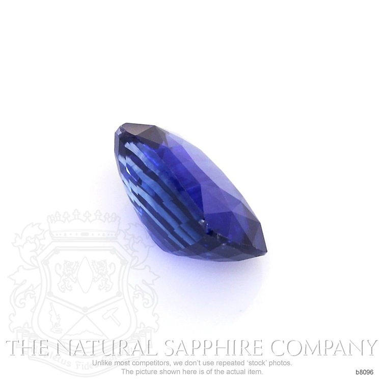 Natural Blue Sapphire B8096 Image 3
