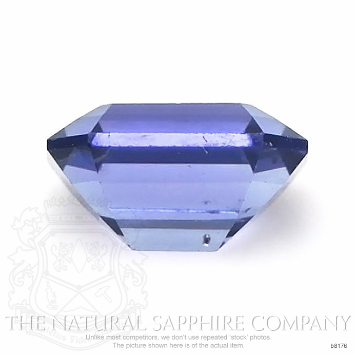 Natural Untreated Blue Sapphire B8176 Image 2