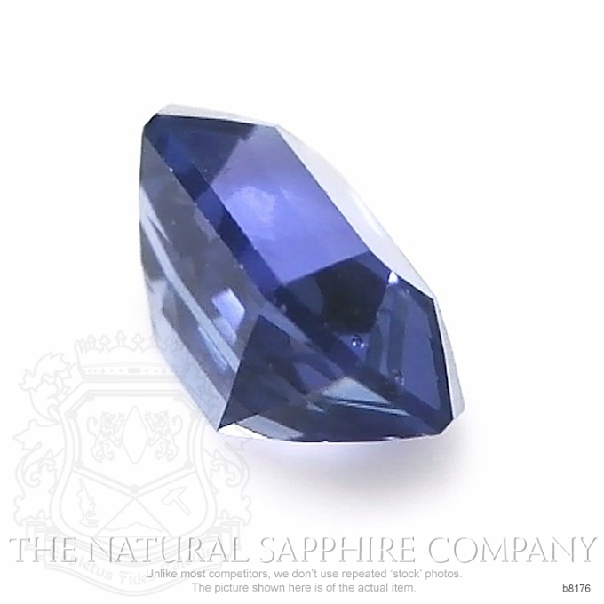 Natural Untreated Blue Sapphire B8176 Image 3
