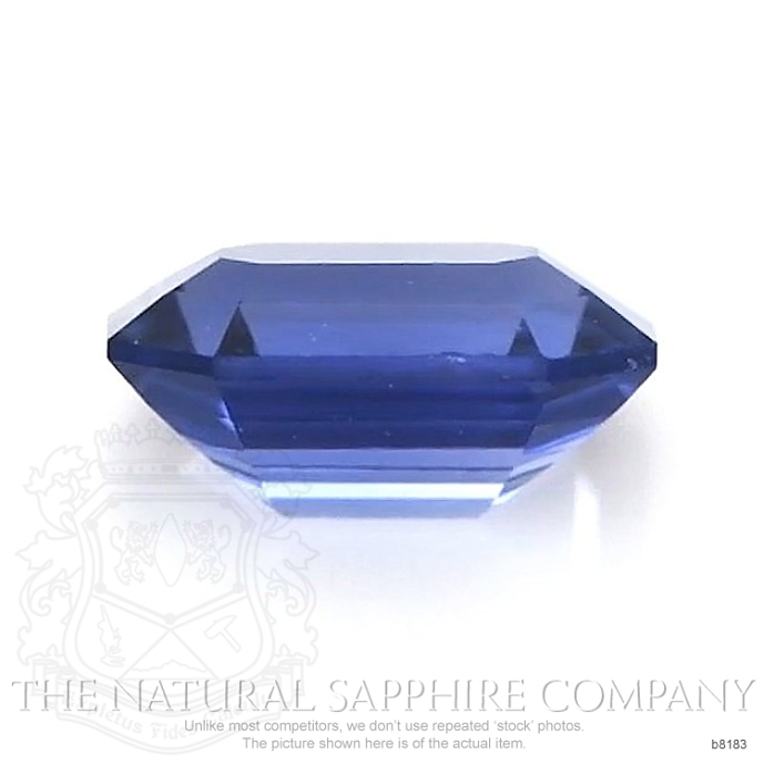 Natural Untreated Blue Sapphire B8183 Image 2