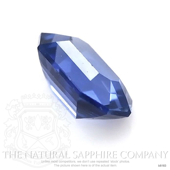 Natural Untreated Blue Sapphire B8183 Image 3
