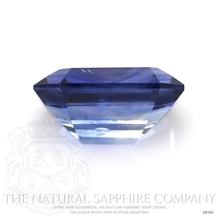 Natural Untreated Blue Sapphire B8184 Image 2