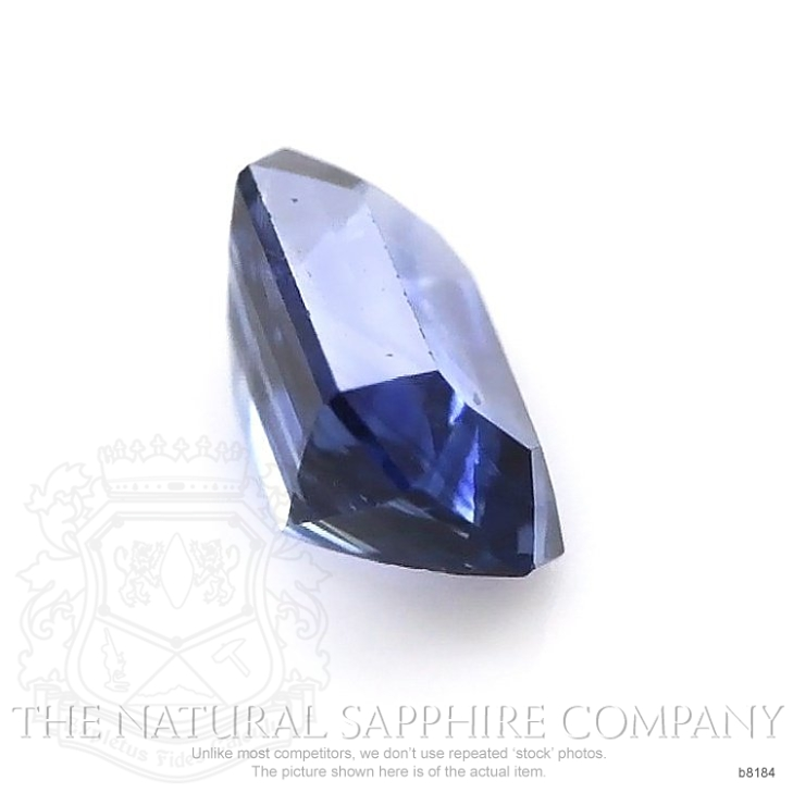 Natural Untreated Blue Sapphire B8184 Image 3