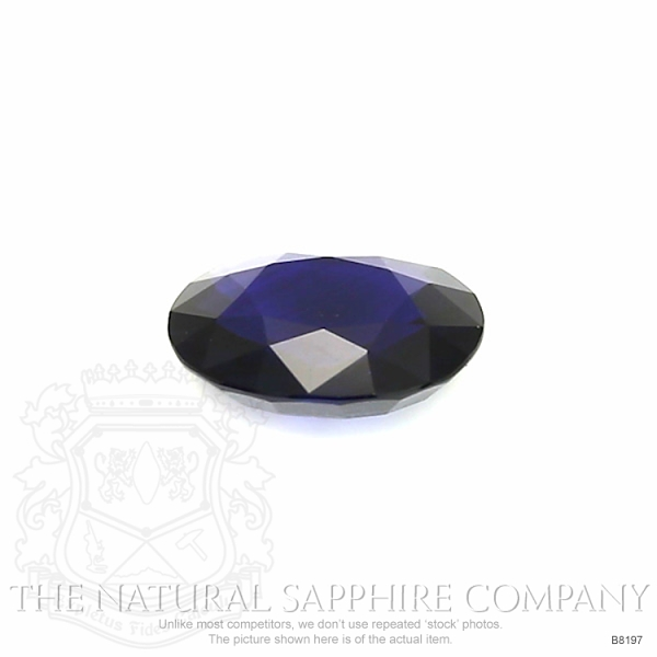 Natural Untreated Blue Sapphire B8197 Image 2