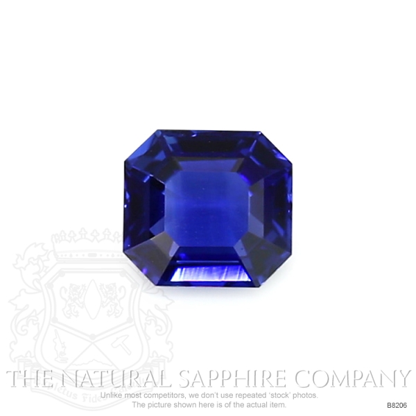 Natural Blue Sapphire B8206 Image