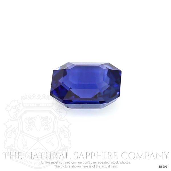 Natural Blue Sapphire B8206 Image 2