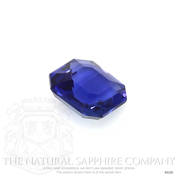 Natural Blue Sapphire B8206 Image 3