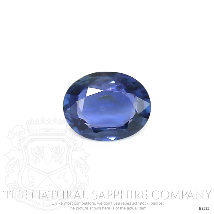 Natural Untreated Blue Sapphire B8232 Image