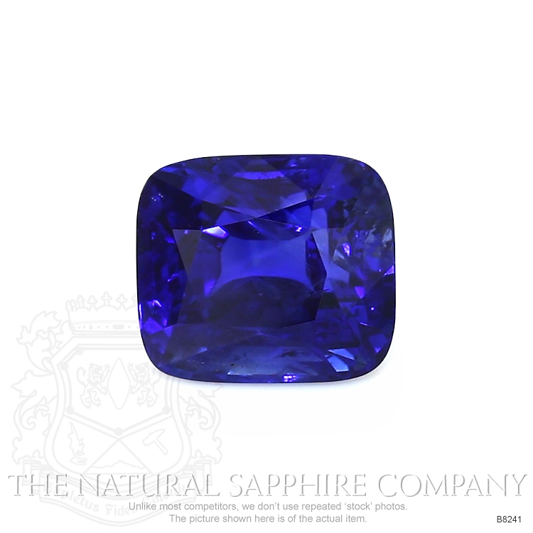 Natural Untreated Blue Sapphire B8241 Image