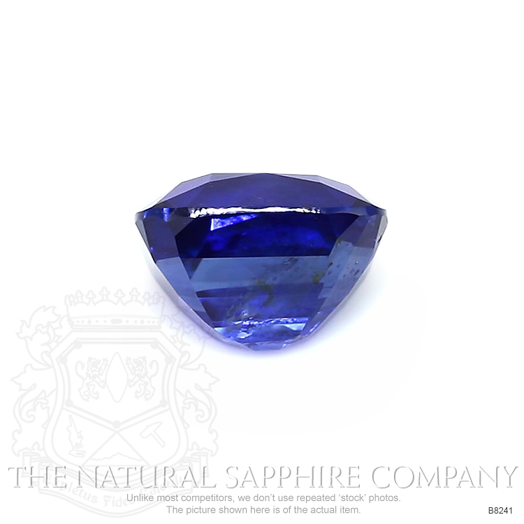 Natural Untreated Blue Sapphire B8241 Image 2