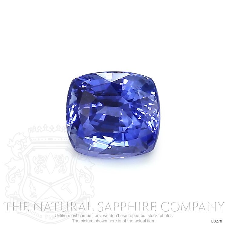 Natural Untreated Blue Sapphire B8278 Image