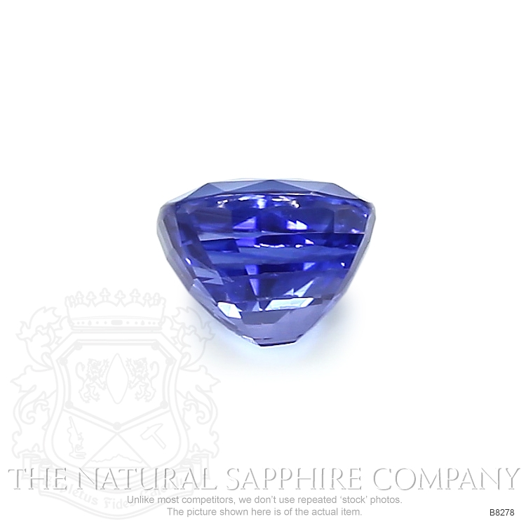 Natural Untreated Blue Sapphire B8278 Image 2