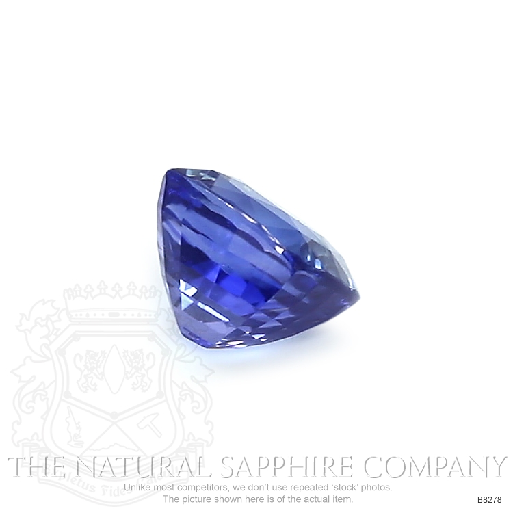 Natural Untreated Blue Sapphire B8278 Image 3