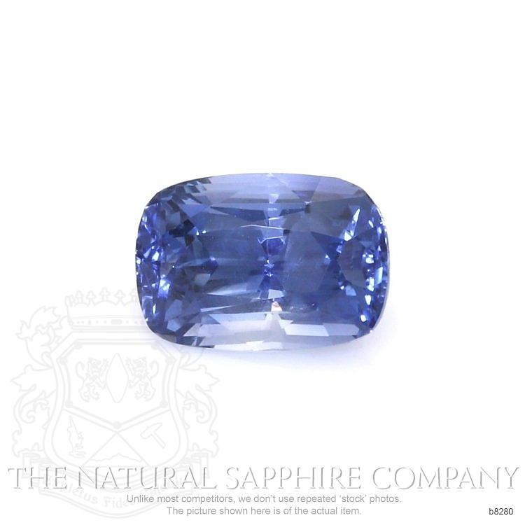 Natural Untreated Blue Sapphire B8280 Image