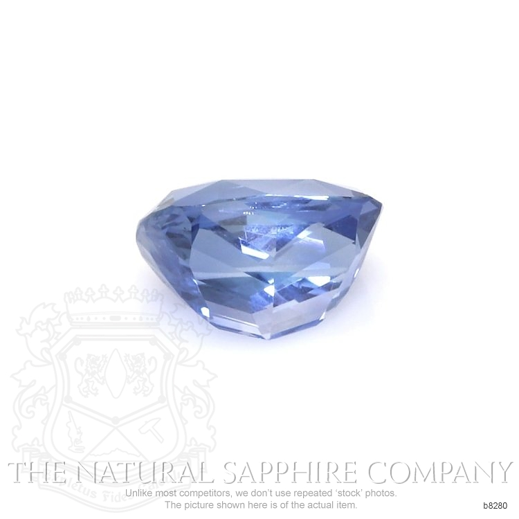 Natural Untreated Blue Sapphire B8280 Image 2