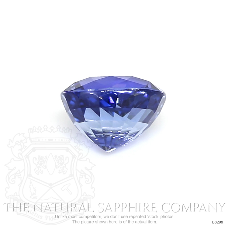 Natural Untreated Blue Sapphire B8298 Image 2