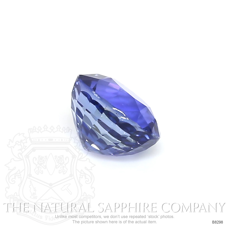 Natural Untreated Blue Sapphire B8298 Image 3
