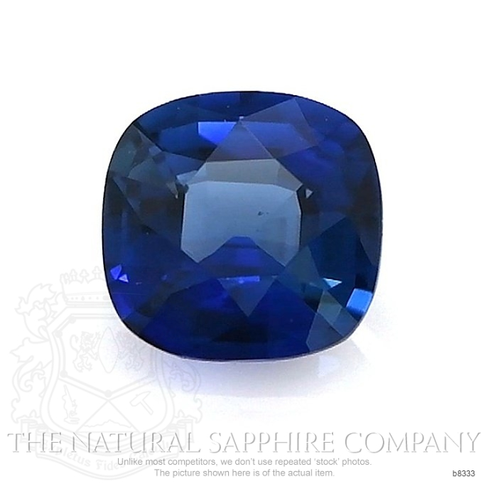 Natural Untreated Blue Sapphire B8333 Image