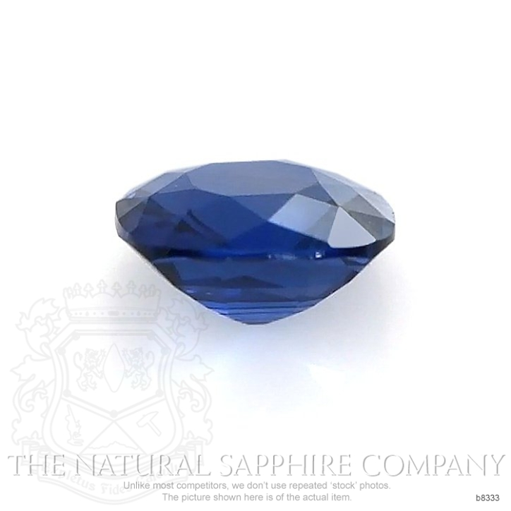 Natural Untreated Blue Sapphire B8333 Image 2
