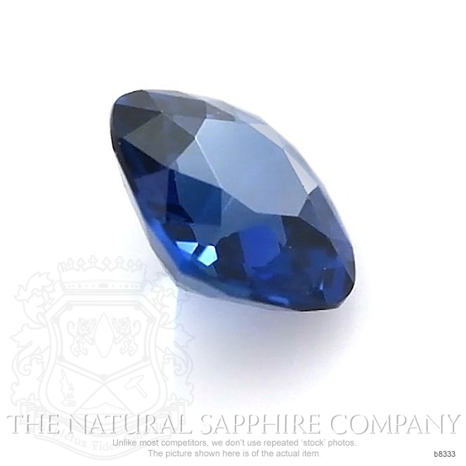 Natural Untreated Blue Sapphire B8333 Image 3