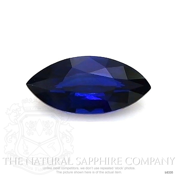 Natural Untreated Blue Sapphire B8335 Image