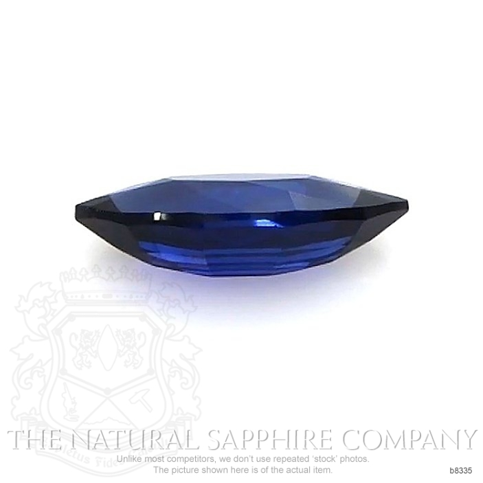 Natural Untreated Blue Sapphire B8335 Image 2