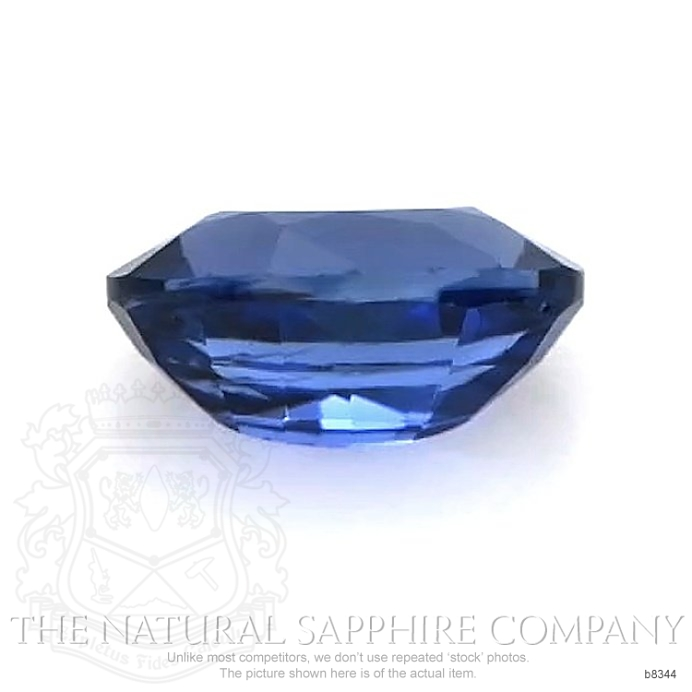 Natural Untreated Blue Sapphire B8344 Image 2